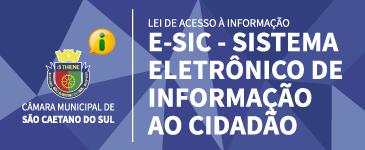 e-SIC - Sistema Eletrônico do Serviço de Informação ao Cidadão